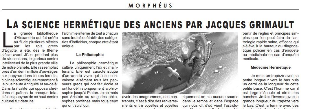 Morpheus n°62
